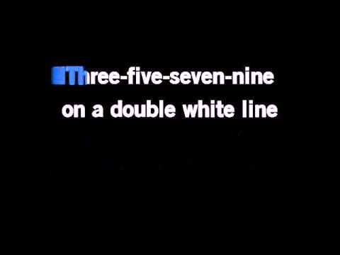 Tom Robinson Band 2 4 6 8 Motorway Karaoke