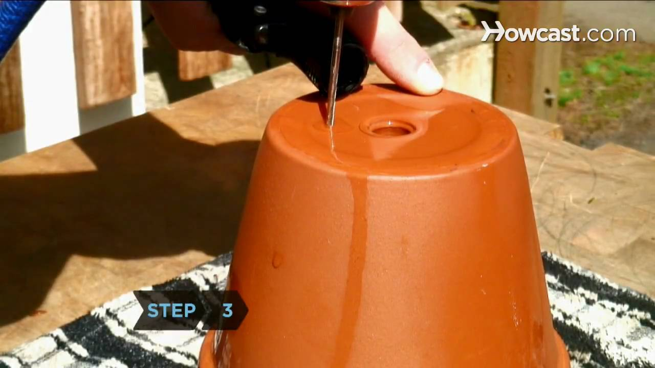 How To Drill Drainage Holes For Container Gardening