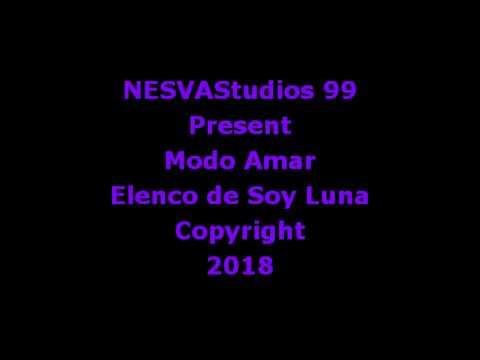 Modo Amar - Karaoke - Elenco De Soy Luna