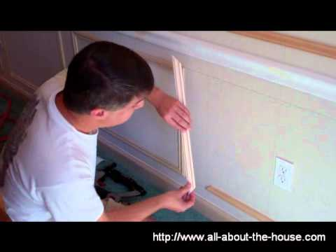 decorative molding constructing shadow boxes