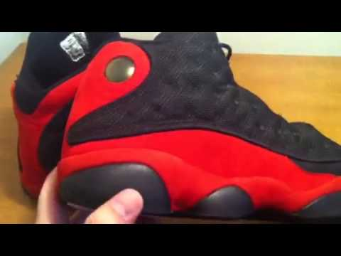 SOLD!!! Original 1997-98 air jordan 13 XIII bred Sz 13 - YouTube 39437c829