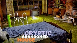 SUPER CRYPTIC ABANDONED 70S HOUSE W/ WEIRD PSYCHIC'S LETTER!!!!