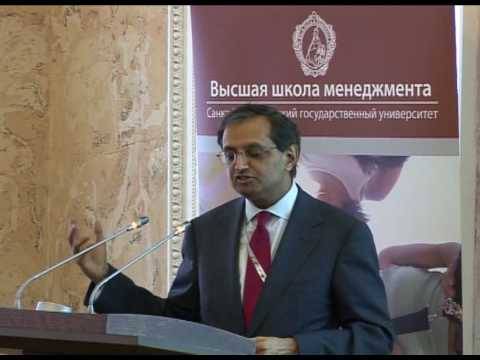 GSOM St. Petersburg University - Guest lecture by Citi CEO Vikram Pandit
