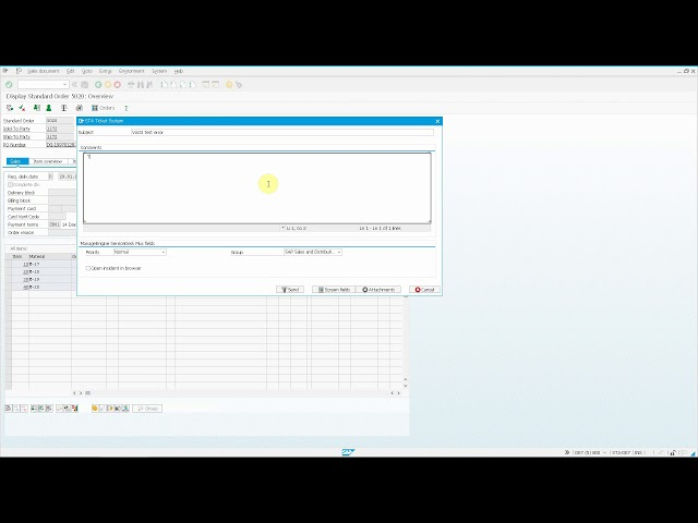 ServiceDesk Plus On Demand: Automatic group determination based on SAP transaction