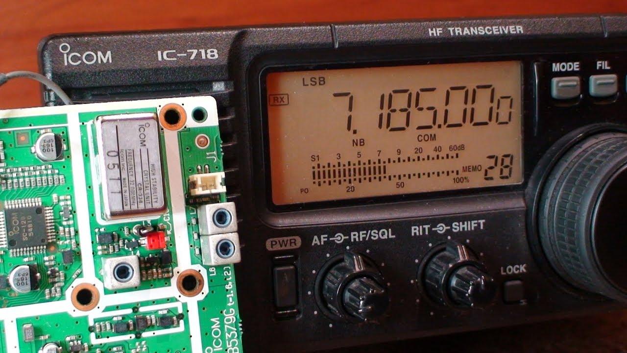ICOM IC-718 High Stability Generator