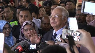 Najib: Charges will allow me to clear my name, that I'm not a thief