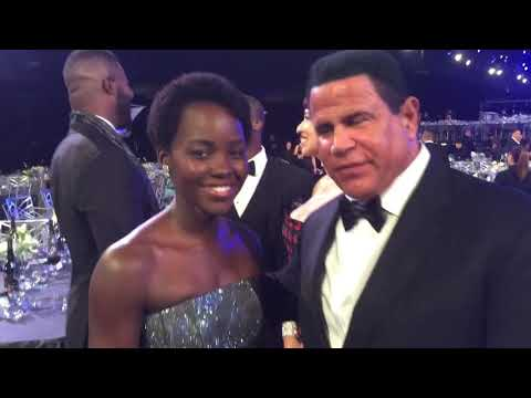 Real Iron Man, Keith Middlebrook, attends the 2018 SAG Awards, Black Panther.