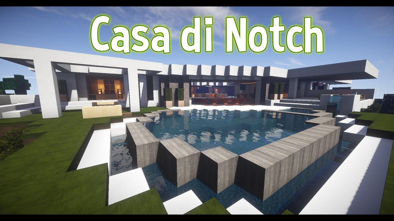 Minecraft la casa di notch youtube for Piccoli progetti di casa di minecraft