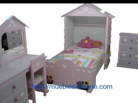 Muebles para ni as youtube for Muebles para recamara de nina