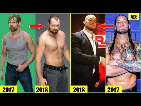 20 WWE SUPERSTARS Who Changed Their Look 2018 - Dean Ambrose, Baron Corbin..
