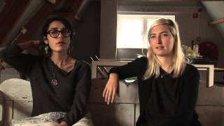 Warpaint interview - Emily and Jenny (part 1)