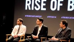 Charlie Shrem at The Rise and Rise of Bitcoin Premiere, TFF 2014 Tribeca Talks
