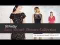 10 Pretty Lace Sheath  Dresses Collection By Adrianna Papell Winter 2017