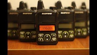 Міні радіостанція Baofeng BF-T1 огляд інструкція
