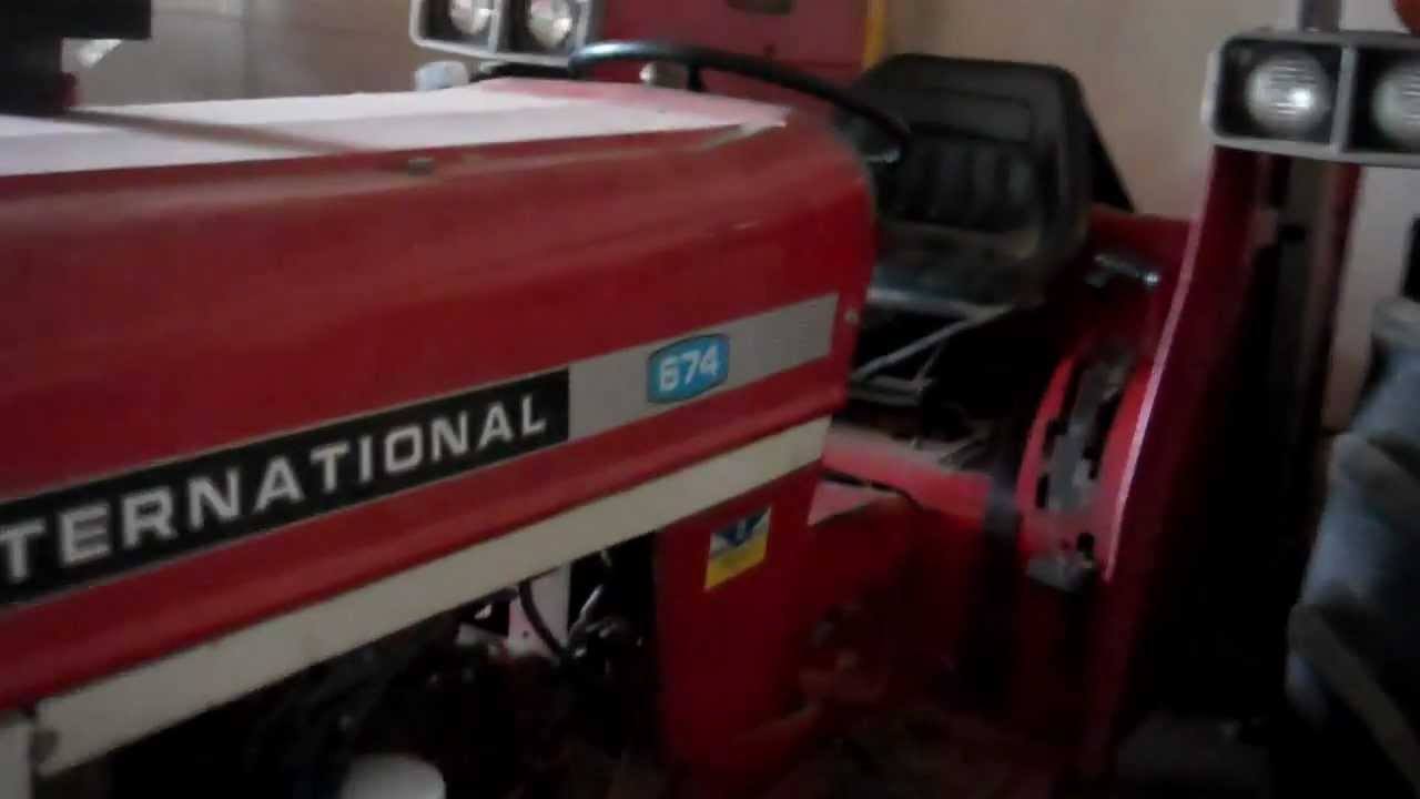 starter wiring diagram 480v transformer tactical shtf international 674 tractor - youtube