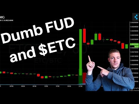 Dumb FUD, ETC on Coinbase and My Good & Bad of Masternodes