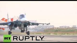 Syria: 'No attacks on civilian infrastructure' - Russian Air Force spokesperson thumbnail