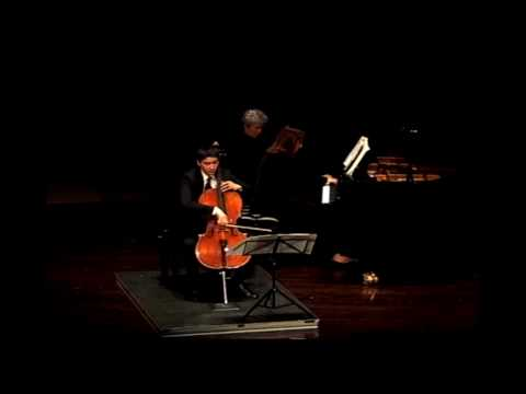 Brahms: Sonata in F Major for Cello and Piano, Op. 99, Mvt. III