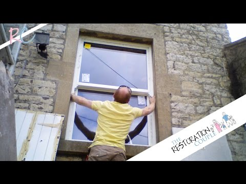 Fitting Sliding Sash Windows - Double Glazed UPVC