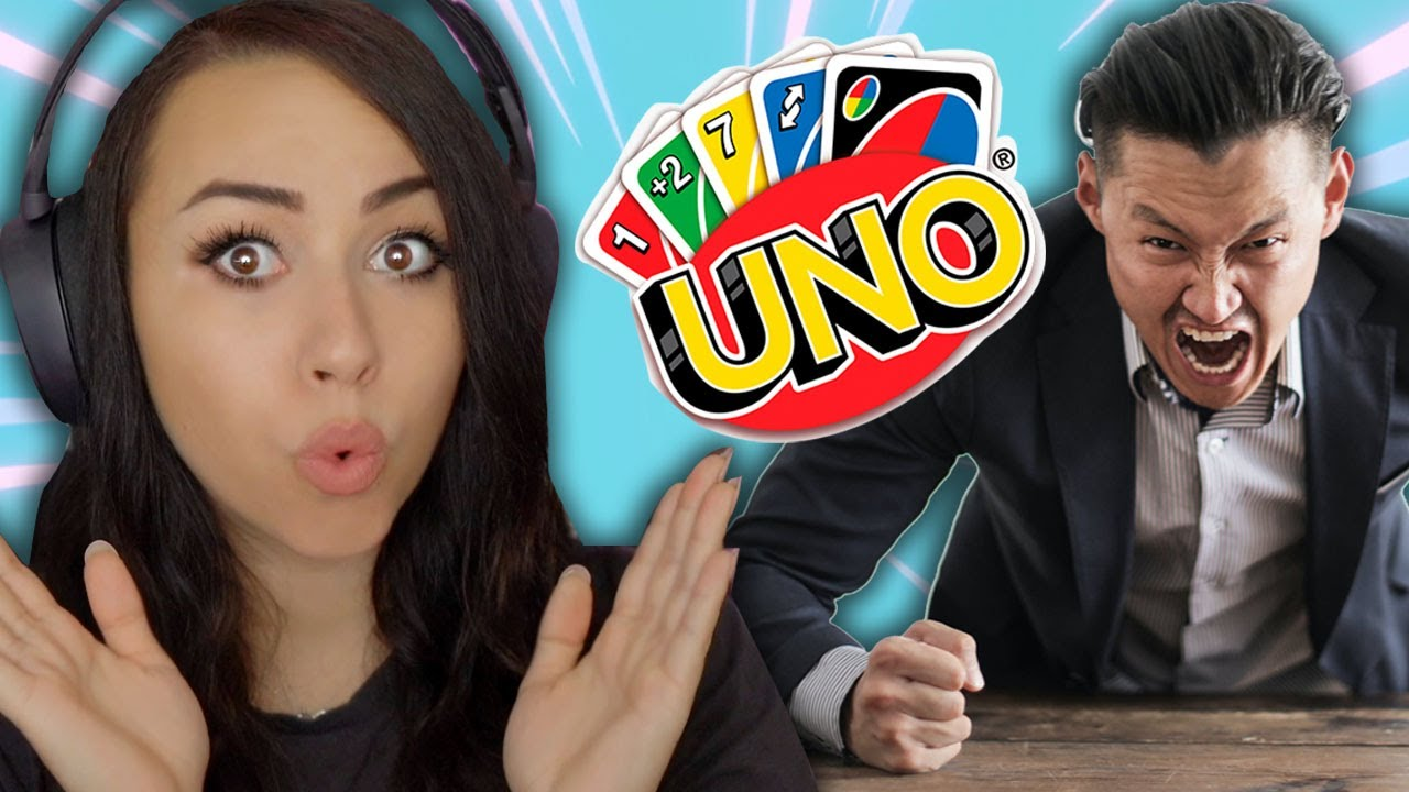 I DESTROYED THE GUYS IN UNO and they got real mad!!! *get good*