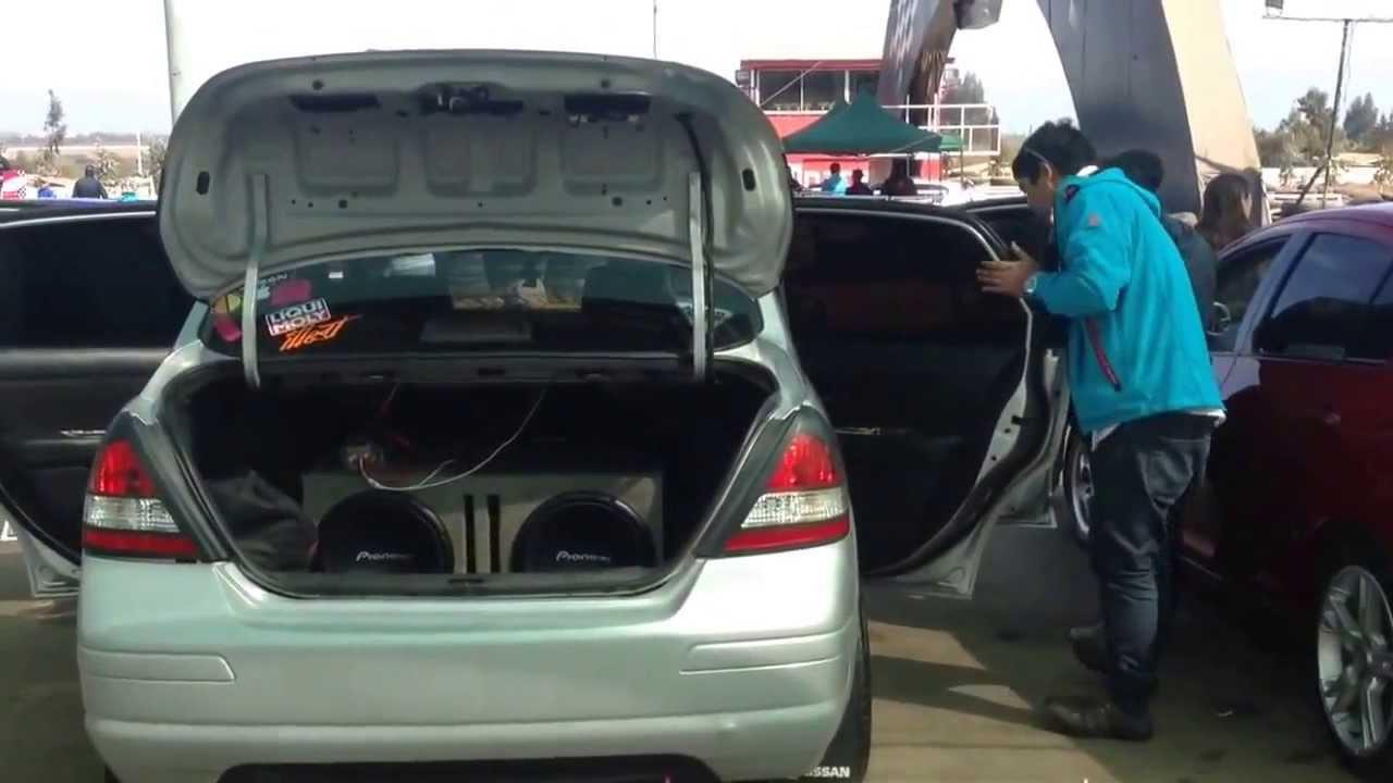 Nissan Tiida Expo Tuning Huachalalume Tbss Youtube