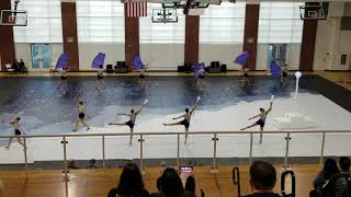Canyon High School (OC) - Winter Guard, January 25, 2020 - WGASC Eval Show