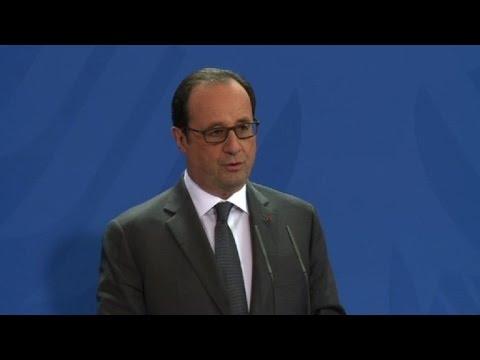 Russie: Merkel et Hollande veulent prolonger les sanctions