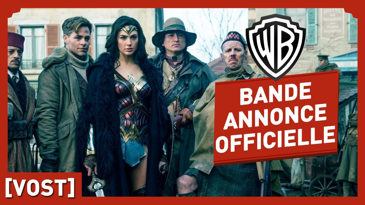 Wonder Woman - Bande Annonce Finale (VOST) - Gal Gadot