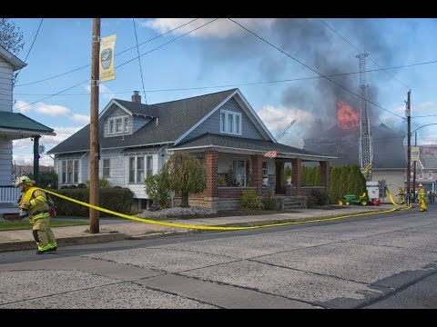 4th Alarm at Diamond Fire Company, Walnutport, PA   11.02.14