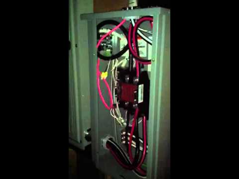 Kohler Generator Automatic Transfer Switch - YouTube