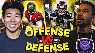 OFFENSE VS DEFENSE DRAFT! CRAZIEST GAME VS DRE DRIZZLE! Madden 19 Ultimate Team