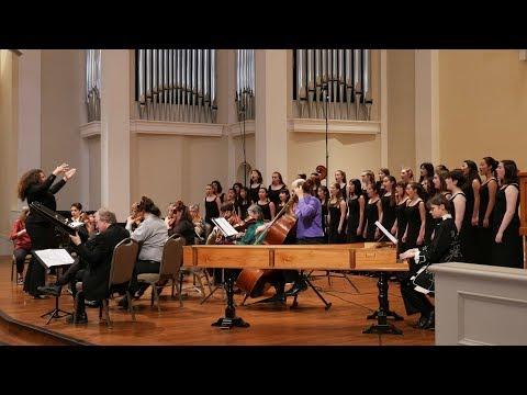Vivaldi: Laetatus sum RV 607. San Francisco Girls Chorus and Voices of Music 4K