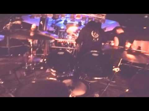 FyreSky - Carpe Noctem (First Person Drum Cam) - Live At The Chameleon 24/03/2017