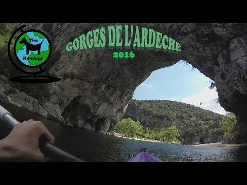 Gorges de l'Ardèche ad Aprile