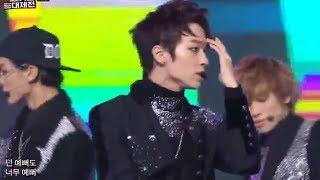[가요대제전] TEENTOP - Miss Right + Rocking, 틴탑 - 긴생머리그녀 + 장난 아냐 KMF 20131231