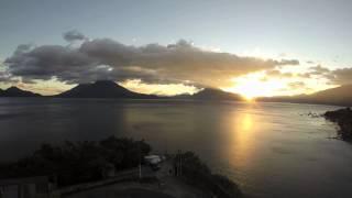 The Most Beautiful Sunset In The World On Lake Atitlan Guatemala