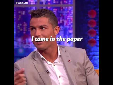What Ronaldo Is Grateful For