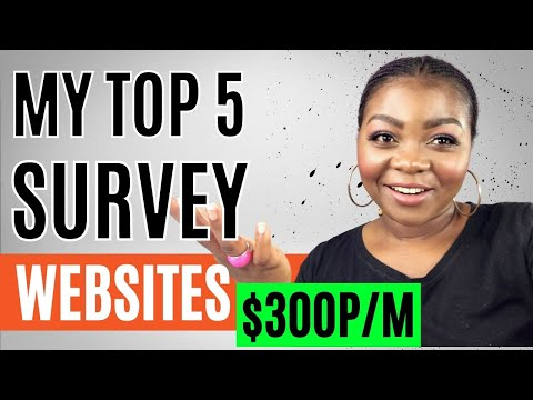 The Best Survey Websites to Make Money Online (2021) Earn Money Online FREE!