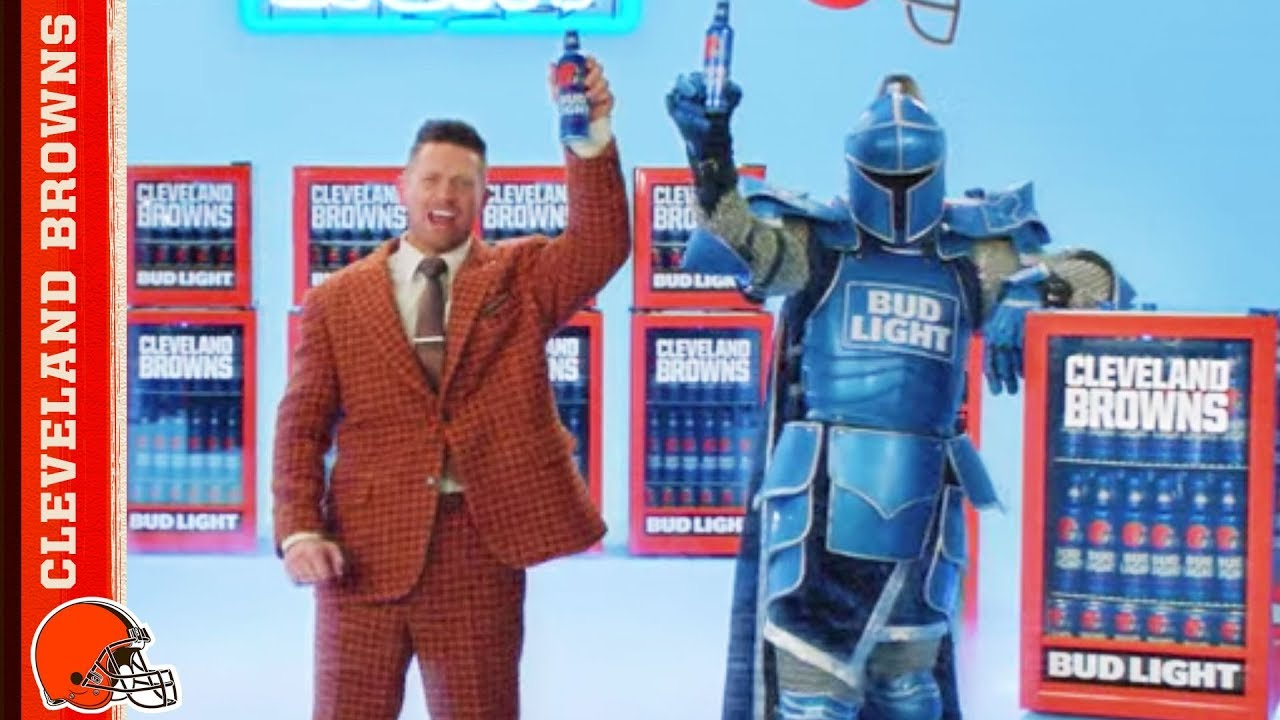 Browns & Bud Light Victory Fridge Commercial w/ WWE's The Miz