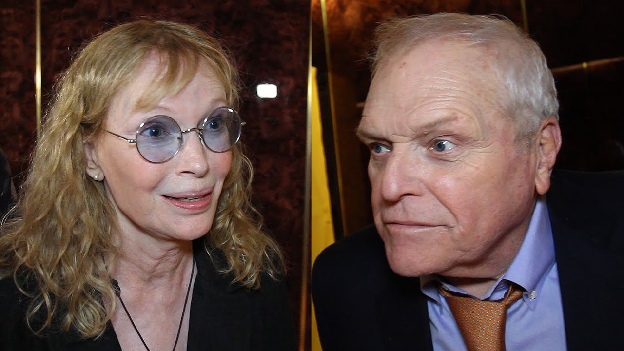 brian dennehy and mia farrow open ar gurneys love letters on broadway