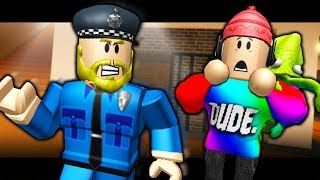 THE LAST GUEST - OFFICER FINKLEBERRY ESCAPES PRISON! (A Roblox Jailbreak Roleplay Story)
