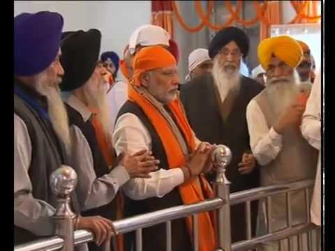 PM Modi's Visit and Darshan of Gurudwara Takht Sri Keshgarh Sahib