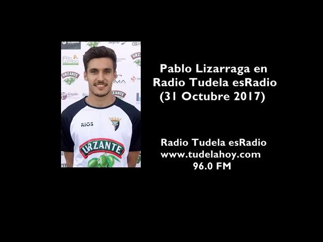 Entrevista a Pablo Lizarraga en Radio Tudela esRadio (31/10/17)