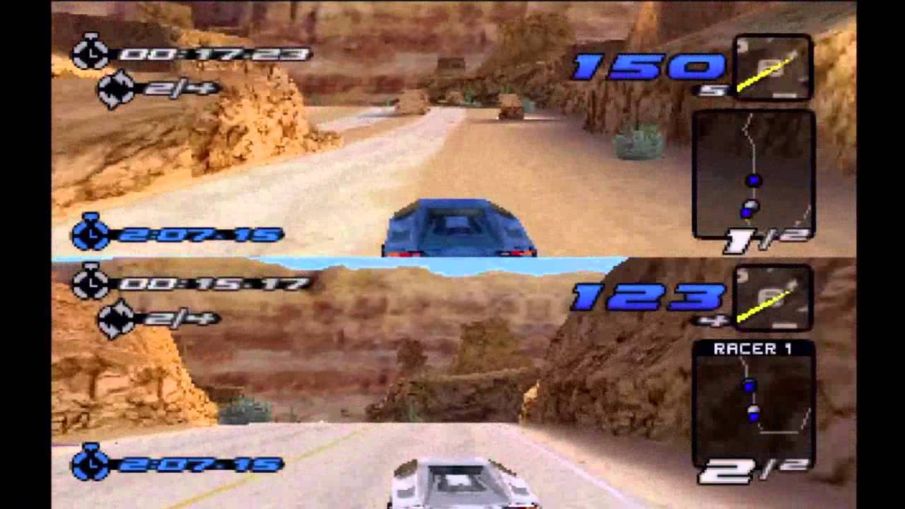 Need For Speed Iii Hot Pursuit Multiplayer Race At Redrock Ridge