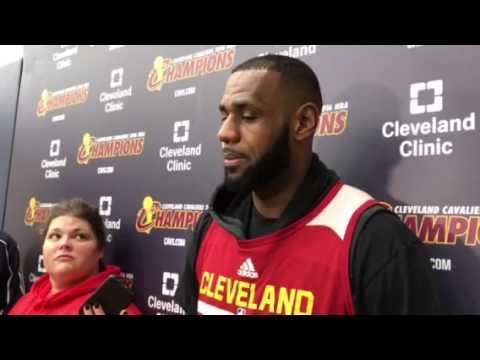 LeBron James on SI Sportsman of the Year award