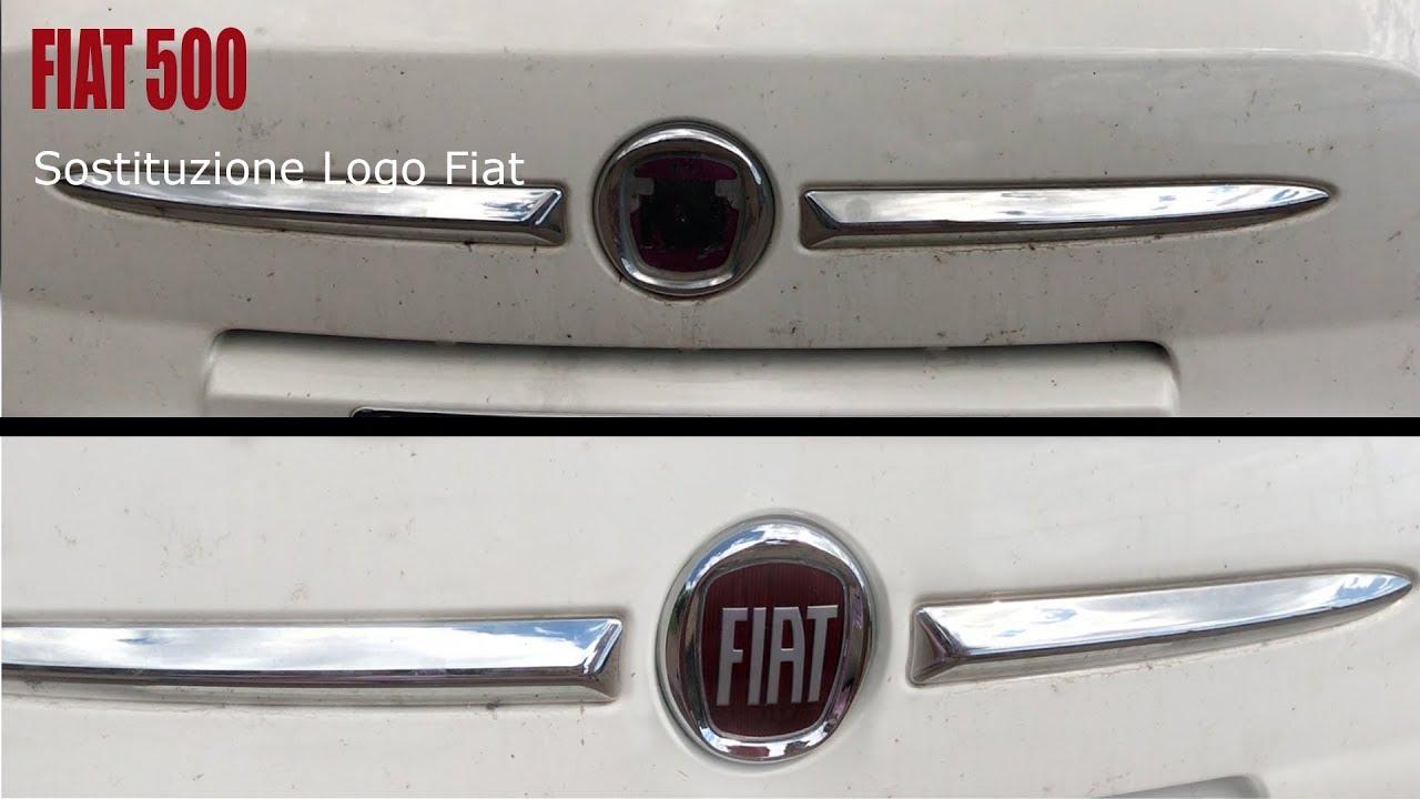 Logo Tondo Rosso Con R.Sostituzione Logo Fiat