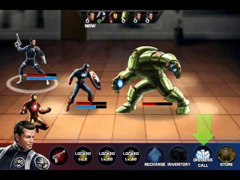 Avengers Alliance By Marvel Entertainment u0410u043bu044cu044fu043du0441 u041cu0441u0442u0438u0442u0435u043bu0438 ios iphone gameplay