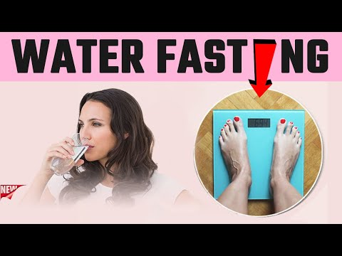 💥 Water Fasting Weight Loss 3 Days | water fasting 30 days BIG Results (No BS water fast)