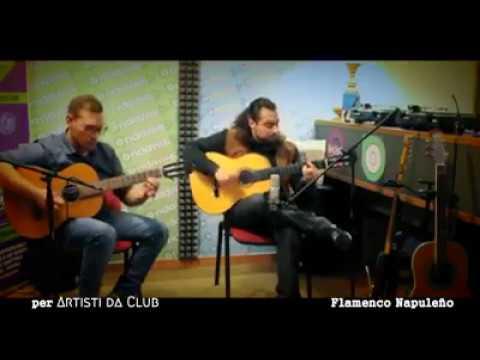 Flamenco Napuleño Guitar Duo - live @ Ondaweb Radio