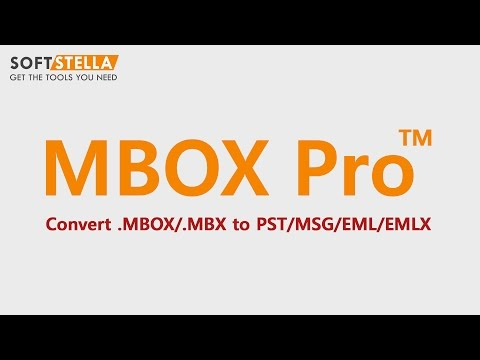 Export MBOX to PST, EMLX, EML & MSG Using MBOX Pro™